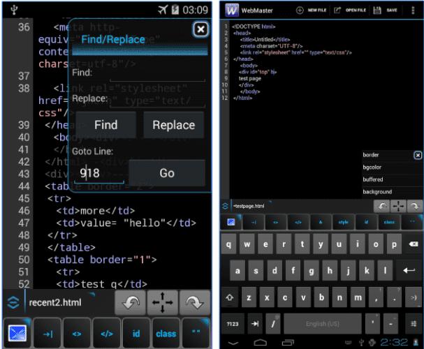 Текстовые редакторы на Android